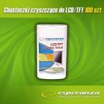 Esperanza Chusteczki czyszcz. do monitorów i ekranów LCD/TFT
