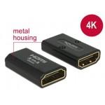 Adapter HDMI (F) -> HDMI (F) 4K łącznik Delock