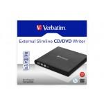 Verbatim CD/DVD RW USB 2.0 SLIM