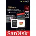 microSDHC SanDisk EXTREME 32GB 100/60 MB/s A1 Class 10 V30 UHS-I U3
