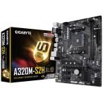 Gigabyte GA-A320M-S2H /AMD A320/DDR4/SATA3/USB3.0/PCIe3.0/AM4/mATX