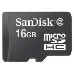 MicroSDHC SanDisk 16GB Card Class4