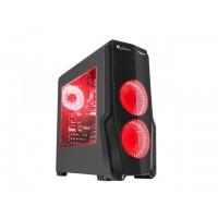 Genesis Titan 800 ATX Midi z oknem, USB 3.0 czerwone podświetlenie
