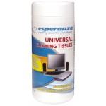Esperanza chusteczki czyszczące uniwersalne ES105 100szt.