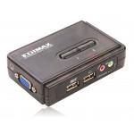 Edimax EK-UAK2 2xUSB z kablami, audio i mic