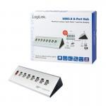 Hub USB LogiLink UA0225 8 portów USB2.0, biurkowy, aktywny