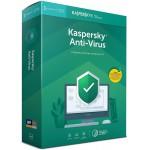 Kaspersky Anti-Virus 2019 Polish Edition 1-Desktop 1 year + METAL POSTER