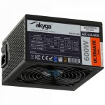 Akyga Ultimate AK-U4-600 80+ Bronze Fan12cm P8 6xSATA