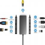HUB ADT 901 USB-C 3.1 9W1