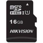 MicroSDHC HIKVISION HS-TF-C1(STD) 16GB 45/10 MB/s Class 10 U1 + adapter