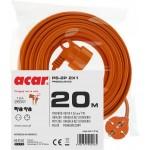 Acar PS-2P 2X1 20m pomarańczowy