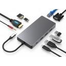 HUB ADT 101 USB-C 3.1 10W1