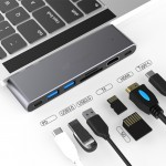 HUB ADT 701MB USB-C 3.1 7W1 MACBOOK