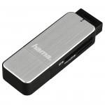Hama SD/microSD USB 3.0 srebrny