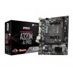 MSI A320M-A PRO /AMD A320/DDR4/SATA3/USB3.0/PCIe3.0/AM4/mATX