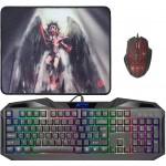 ANGER MKP-019 (klawiatura+mysz+podkładka)