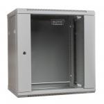 Digitus 19'' 12U 635/600/450mm drzwi szklane szara (RAL 7035) niezmontow