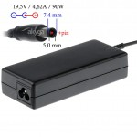Akyga AK-ND-07 do notebooka 19,5V/4,62A 90W 7.4x5.0mm + pin