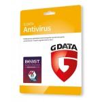 G DATA ANTIVIRUS 3PC 1 ROK KARTA-KLUCZ