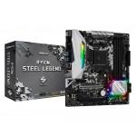 ASRock B450M Steel Legend /AMD B450/DDR4/SATA3/M.2/USB3.1/PCIe3.0/AM4/mATX