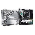 ASRock B550M Steel Legend/AMD B550/DDR4/SATA3/M.2/USB3.1/PCIe4.0/AM4/mATX