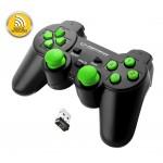 Esperanza ''Gladiator'' 2.4GHZ PS3/PC USB czarno/zielony