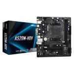 ASRock A520M-HDV/AMD A520M/DDR4/SATA3/M.2/USB3.1/PCIe4.0/AM4/mATX