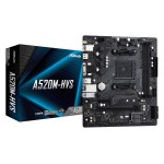 ASRock A520M-HVS/AMD A520M/DDR4/SATA3/M.2/USB3.1/PCIe4.0/AM4/mATX