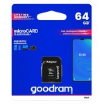 GOODRAM 64GB M1AA-0640R12 cl 10 UHS I + adapter