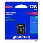 GOODRAM 128GB M1AA-1280R12 cl 10 UHS I + adapter