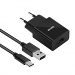 Acme CH212 1 port USB, 2,4A (12W), szybka + kabel USB Typ-C