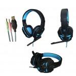 Acme Aula Prime Gaming czarno-niebieskie