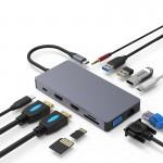 HUB ADT 1201 USB-C 3.1 12W1