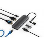 HUB ADT 801 USB-C 3.1 8W1