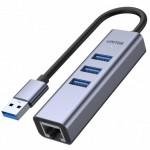 A Unitek H1906A 3.1 5 Gbps, 3x USB-A + RJ45