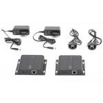 DIGITUS HDMI 120m po skrętce Cat.6 UTP/IP 4K 30Hz UHD audio (zestaw)